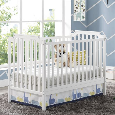 Grey Baby Crib With Changing Table Baby Relax 2 In 1 Crib And Changing Table Combo Gray