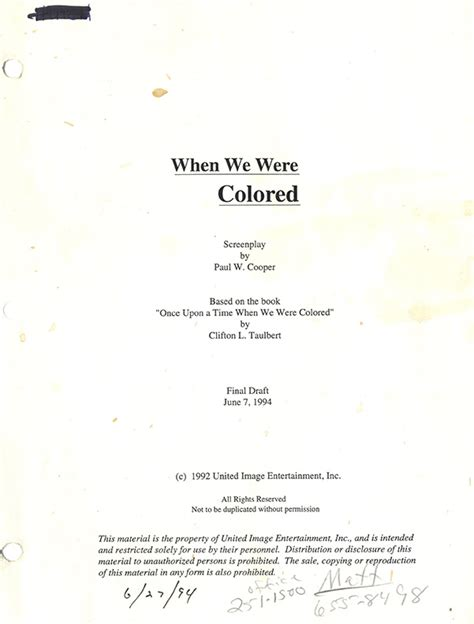 once upon a time when we were colored once upon a time when we were colored script 1994