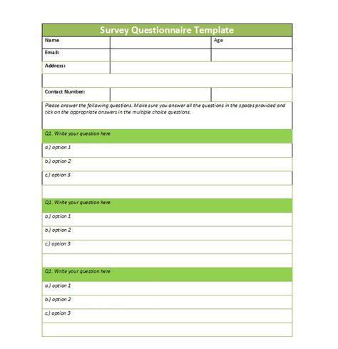printable survey template beautiful free printable survey template