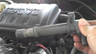 spark change 2003 jeep liberty 3 7l part 1