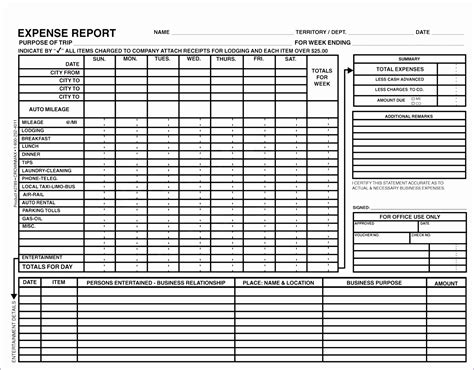 8 Travel Expense Report With Mileage Log Exceltemplates Exceltemplates Travel Expense Report Mileage Log Templates