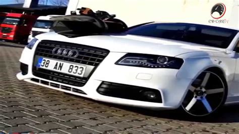 audi a4 b8 modified audi a4 b8 white modified car new hd