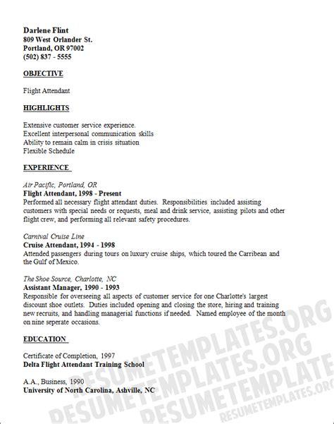 15  flight attendant cv no experience   Basic Job