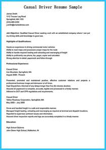 Resume Skills Gained Stunning Driver Resume To Gain The Serious Driver