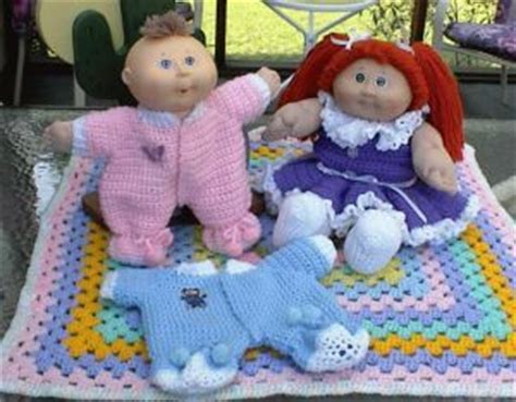 free knitted cabbage patch doll clothes patterns pin by doreen brown on crochet