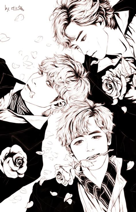 Kpop Sketches by 20 Best Images About Kpop Drawings On Posts
