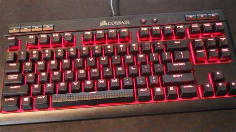 Keyboard Corsair K63 Corsair K63 Compact Mechanical Keyboard Review
