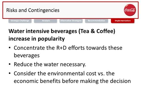 Mba In Sustainability And Environmental Compliance by Mba 691 Business Ethics Coca Cola Water Sustainability