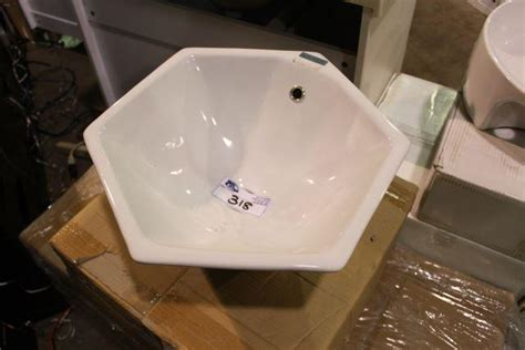 hexagon bathroom sink white hexagon bathroom sink