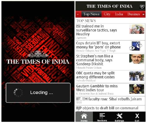 www timesofindia mobile times of india app now available for nokia smartphones