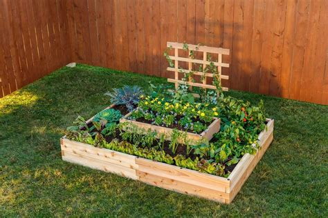 raised garden bed kits raised garden beds diy kits yardcraft