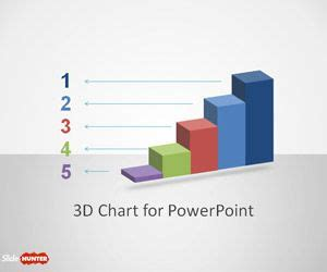 Free 3d Concept Bar Chart Design For Powerpoint Free Powerpoint Templates Slidehunter Com Free Powerpoint Bar Chart Templates