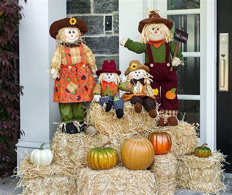 scarecrow decorations fall fall decor porch makeover