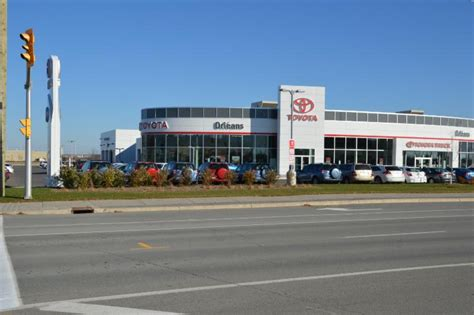 Toyota Dealership New Orleans Orleans Toyota Orl 233 Ans On 2035 Mer Bleue Rd Canpages