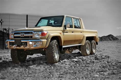 Land Crusier Toyota Toyota Land Cruiser 6x6 By Nsv Hiconsumption