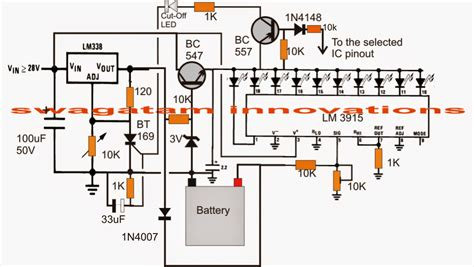12v battery charger with auto cut circuit diagram 3v 4 5v 6v 9v 12v 24v automatic battery charger with