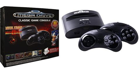 console sega mega drive sega mega drive console with 80 built in now