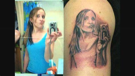 los peores tatuajes los peores tatuajes de retratos youtube
