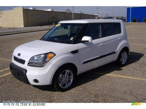 White Kia Soul For Sale 2010 Kia Soul In Clear White 160168 Vannsuv