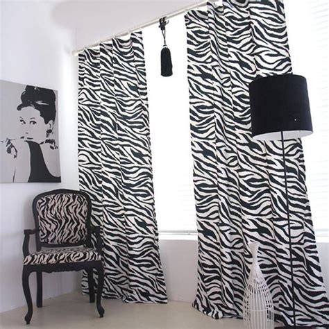 zebra curtain rod 25 best ideas about zebra curtains on pinterest front
