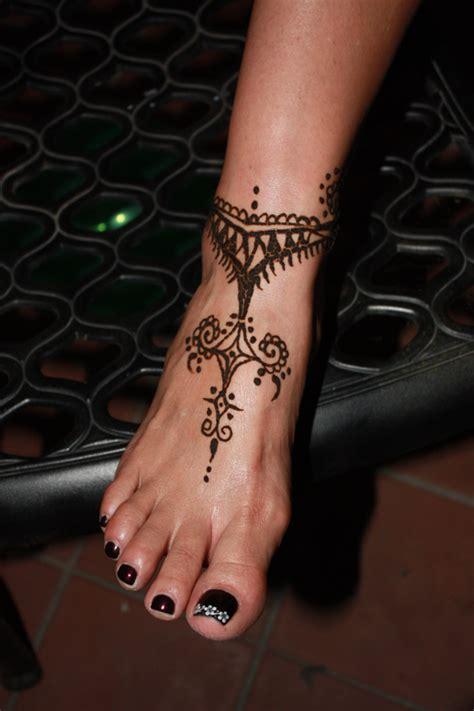 henna tattoo on ankle feet ankles brooke harker