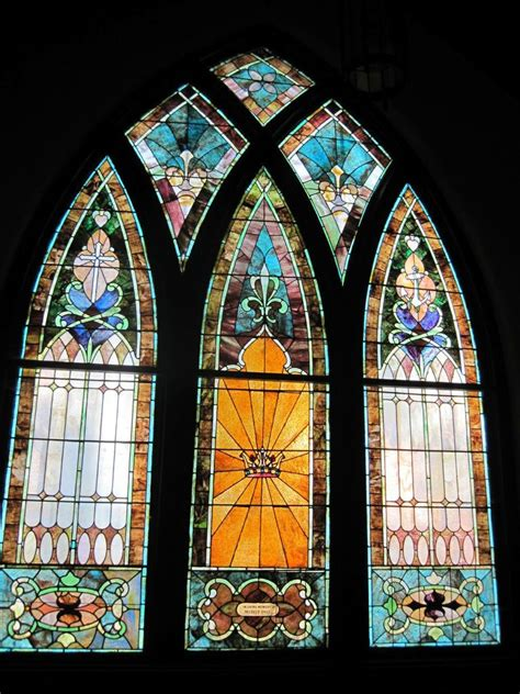 stained glass arch windows easy home decorating ideas