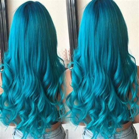 turquoise hair color best 25 turquoise hair ideas only on mint