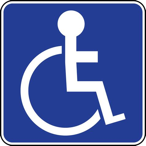 disabled parking template handicap parking signs printable cliparts co