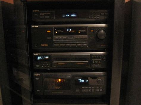 sony rack stereo for sale