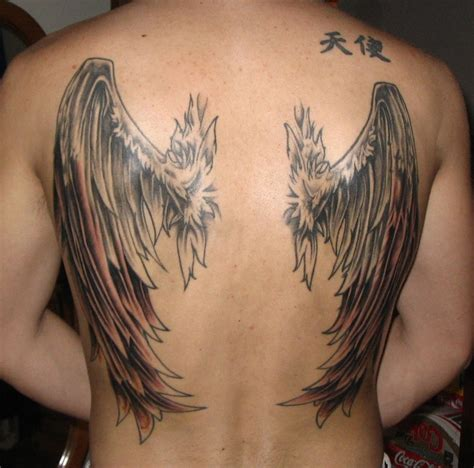 back tattoo wing tattoos designs ideas and meaning tattoos