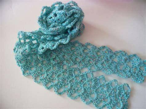 pattern crochet lace crochet scarf from vintage lace pattern a photo on