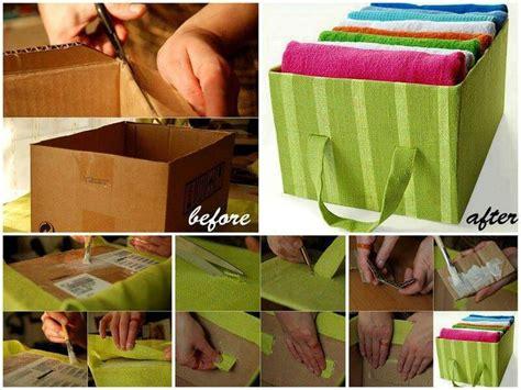 diy storage boxes diy cardboard box storage idea storage pinterest
