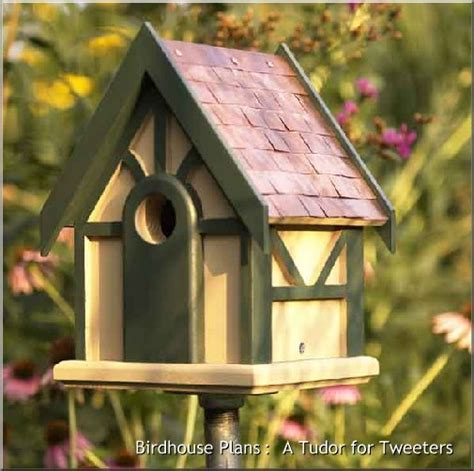 Wood Plans For Birdhouse