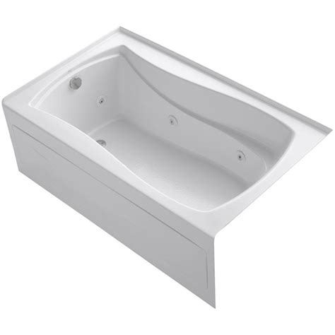 bathtub flange kohler devonshire 5 ft right hand drain integral april