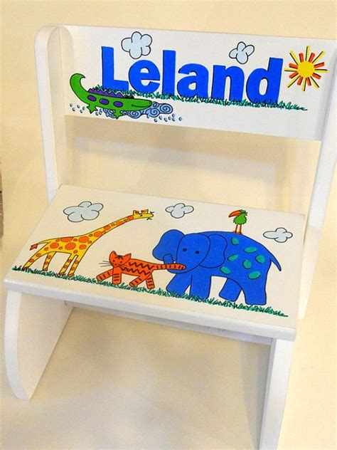 Child Stool With Name Blocks by 51 Best Ideas About Childrens Stools On Animal
