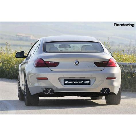 Supersprint Catback System Bmw F30 320 N20 Engine Before Lift bmw f12 f13 640i gt supersprint catback system with centre silenced exhaust