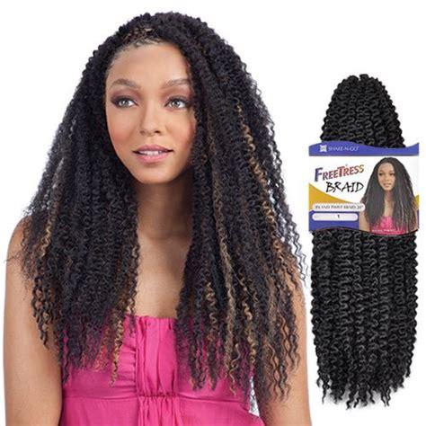 caribbean twist hairstyles freetress synthetic hair braids island twist braid 20
