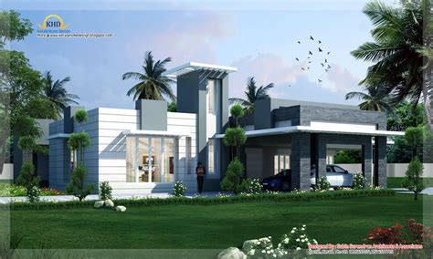 Modern House Plans Designs Modern Contemporary Home Design 4500 Sq Ft Home Appliance