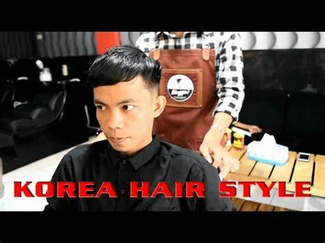 binggo barbershop rambut pendek minta model  block