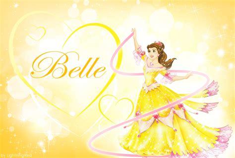 disney name wallpaper yellow belle wallpaper disney princess fan art 31653228