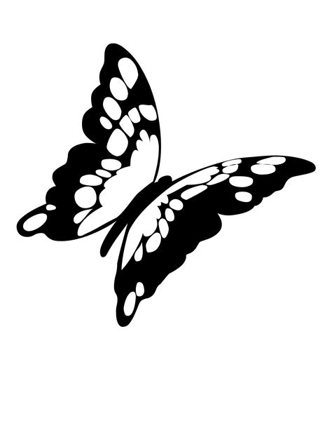 black and white coloring pages of butterflies best photos of flying butterfly outline flying butterfly