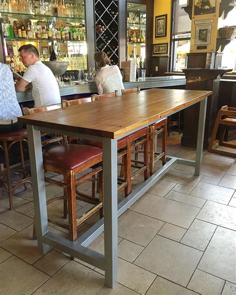 bar height table legs bar height table with metal legs pinteres
