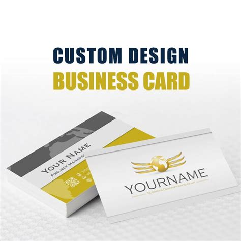 make custom business cards custom branding design package that stands out