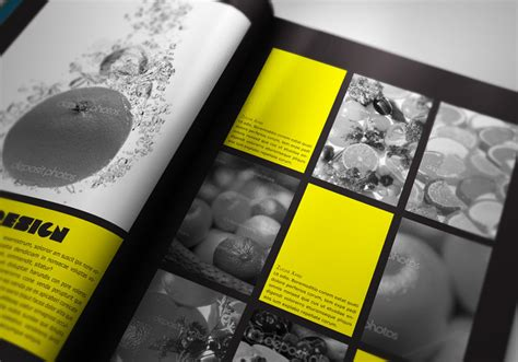 Portfolio Book Presenter Stockindesign Photography Portfolio Template Indesign Free