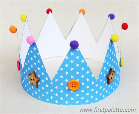 Paper Crown Craft - paper crown craft crafts firstpalette