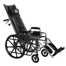 reclining wheelchair hcpc probasics full reclining wheelchair folding recliner
