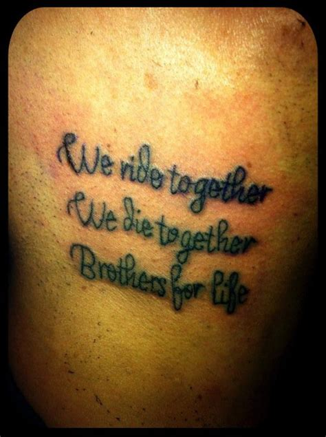 ride or die tattoo ride or die quotes tattoos quotesgram