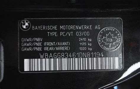 Bmw Vin Number by Bmw Vehicle Identification Number Html Autos Weblog