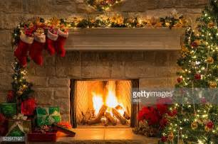 Fireplace With Tree by Fireplace Stock Photos And Pictures Getty Images