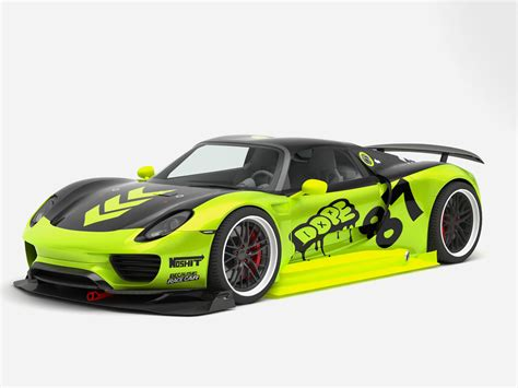 porsche 918 racing chimera one porsche 918 race concept